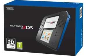 Nintendo 2DS (Black/Blue)- Argos eBay (refurb) £62.99 !!