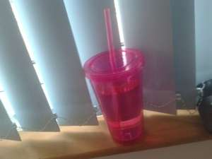 Take-Out style plastic cup £1.29 @ Home Bargains *Various Colours*