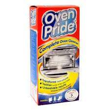 Oven Pride - Complete Oven Cleaner - only £2.99 - no mess or fumes - Home Bargains