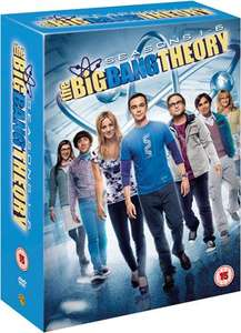 The Big Bang Theory Seasons 1-6 DVD £15 @ Sainsburys Entertainment