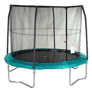 JumpKing 10ft Trampoline with Enclosure £99 asda in store and online
