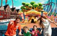 *Summer Hols* Portaventura Amazing 4* Star Hotel with own Beach and Water Park and Spa - Free Transport & Entry to Portaventura Theme Park and Return Flights & Transfers = Total Price for Family of 3 (2 Adults & 1 Child) =  £