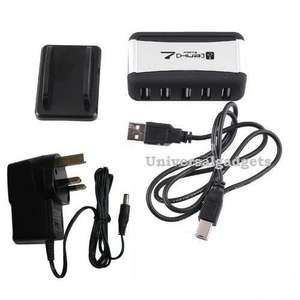 7 PORT MAINS USB V2.0 BUS POWERED HUB ADAPTER PC LAPTOP £4.75 @ universalgadgets