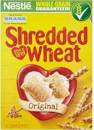 Shredded Wheat 16 pack 49p @ supervalu