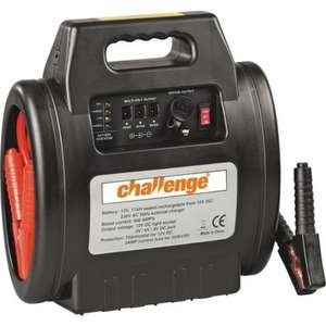 CHALLENGE RECHARGEABLE CAR ENGINE STARTER £17.99 Delivered @ Ebay/Argos