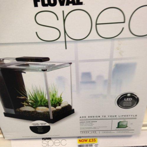 Fluval Spec 10 litre aquarium half price instore @ Pets At Home £35