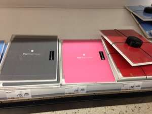 Official apple iPad smart covers £15 at Asda instore