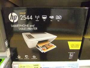 HP 2544 Wireless smartphone & Tablet all in one colour inkjet printer Was £49 now £39 online & instore @ Tesco