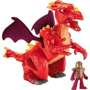 Fisher-Price Imaginext Castle Dragon less than half price was £24.99 now £11.99 @ Argos
