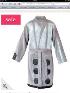 Dalek dressing gown £11.49 Internet gift store