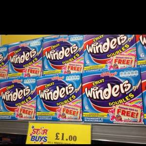 Kellogg's Fruit Winders Doubles 6 Rolls £1.00 @ Home Bargains