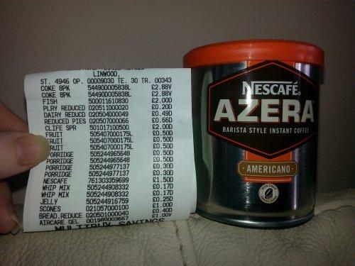 Nescafe Azera Coffee - £1.50 instore @ ASDA