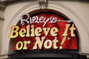 Ripley's believe it or not Family ticket £40 (RRP £75) London