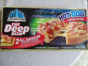 Chicago Town 2 Deep Dish Pizza's 2 Packs for £2.00 @ FarmFoods