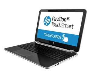 "HP Pavilion - 15-N090SA Touchsmart 15.6"" Touchscreen Laptop, AMD8 4555M, Radeon HD 7600G, 8GB, 1TB - Aluminium PC World.£439.97"