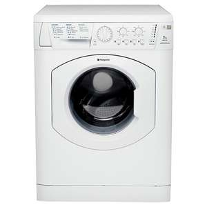 NOT A BAD WASH FOR LITTLE DOSH Hotpoint WML720P Washing Machine Aquarius 1200 Spin 7kg £219 from Fires - Cookers 5 year parts and 1 year labour waranty free delivery including weekends