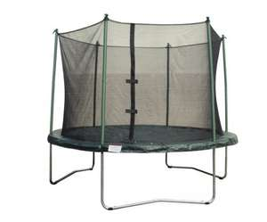 8FT Trampoline With Enclosure And Cover @ b&q. Was £89.   Now £59.  Free Del.