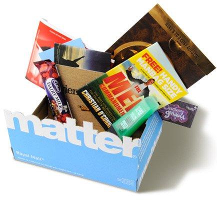"""free """"matter"""" box"""