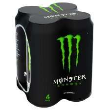 Monster Energy Drink 8 500ml cans for £6.00 @ Tesco