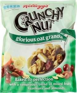 Kelloggs Crunchy Nut Oat Granola Fruit & Nut (380g) was £2.99 now £1.49 @ Tesco