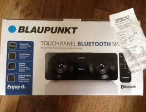 blaupunkt touch panel bluetooth speaker was £69.99 now £29.99 @ sainsbury's in store (not online)