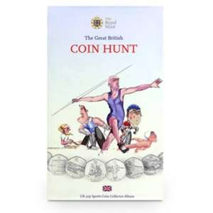 royal mint UK 50p Sports Edition Coin Collector Album  £5 & free p&p with code KA6WEB @ royalmint