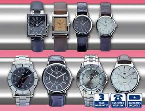 Ladies and men's watches £6.99 in store at aldi.
