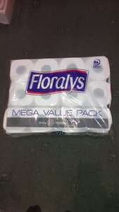 Floralys 24 toilet rolls reduced to only £2.99 at Lidl!