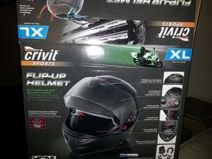 Crivit Sports Flip-Up Motorcycle Helmet £39.99 @ Lidl