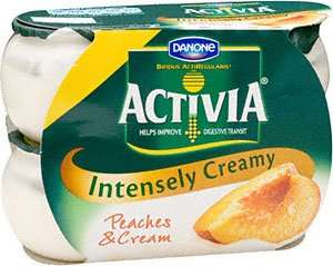 Activia Intensely Creamy 2 x 4 pack yoghurts for £1 at asda (using voucher)