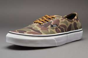 Vans Camo Trainers £18.94 delivered @ Pro-Direct select