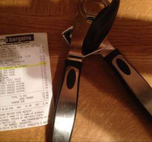 Premium can opener & bottle opener £1.49 @ home bargains