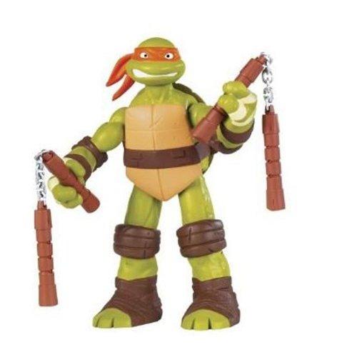 Turtles 30cm Battle Shell Michelangelo,  Leonardo & Donatello Figure £9.99 Delivered Free To Amazon Locker