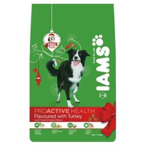 Iams Turkey Dry Dog Food. £3.49 @ Home Bargains.