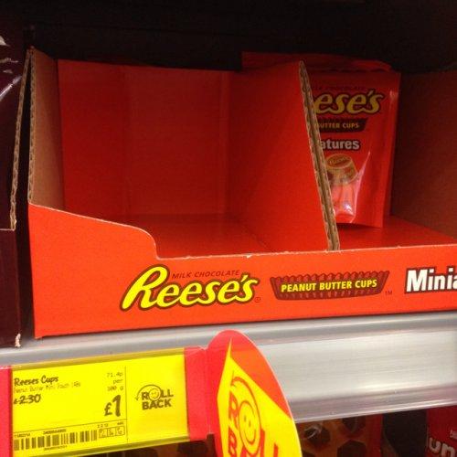 Reese's 140g pouch mini peanut butter cups £1!! @ asda