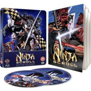 Ninja Scroll - Steelbook Edition (Blu-Ray & DVD)  @ Zavvi - £9.95