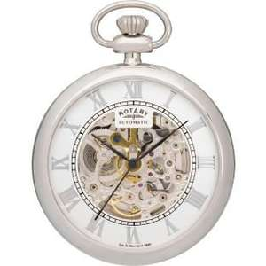 Rotary Men's Stainless Steel Pocket Watch@ Argos, £39.99 (was £83.99)
