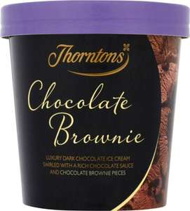 Thorntons ice cream (3 flavours) - £1 at ASDA (in-store only)