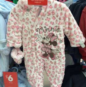 Minnie Mouse Snowsuit was £16 now £4 @ Matalan