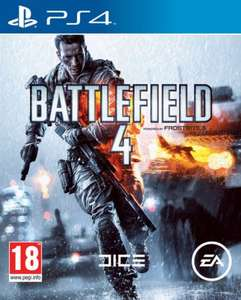 BATTLEFIELD 4 for PS4 now £39.99 @ The Hut and Zavvi