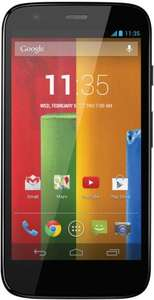 Tesco Mobile Motorola Moto G™ 16GB Black £139 @ Tesco direct