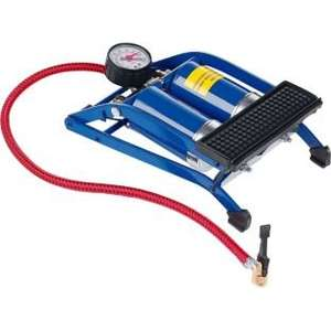 Argos Value Range Twin Cylinder Metal Foot Pump £2.99