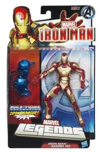 Marvel Legends Iron Man Mark 42 action figure - £8.99 @ Amazon (£5.69 with Prime / £10+ spend / Locker delivery)