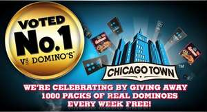 FREE Chicago town takeaway pizza