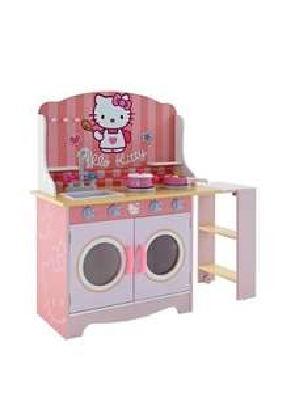 £60 Hello Kitty Wooden Toy Kitchen @ Woolworths