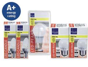 Twin Pack - 4.5W LED Candle Bulb - Aldi instore £5.99