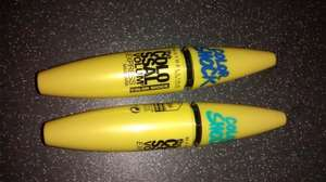 Maybelline the COLOSSAL Volume Color shock mascara £1 @ Poundworld