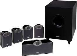TANNOY SFX 5.1 Black Speaker Package with Wall mounting brackets & 25 metres speaker cable £149.95 @ RicherSounds