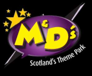M&D's Scotland's Theme park Save £75 off a season pass - from £84