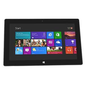 "microsoft Surface Tablet, NVIDIA Tegra 3, Windows RT, 10.6"", Wi-Fi, 64GB + FREE Keyboard Cover, Blue @ john lewis for 299"